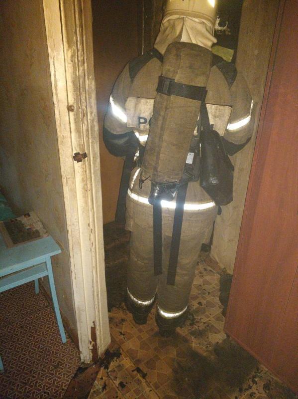 В Коврове на пожаре погибла женщина
