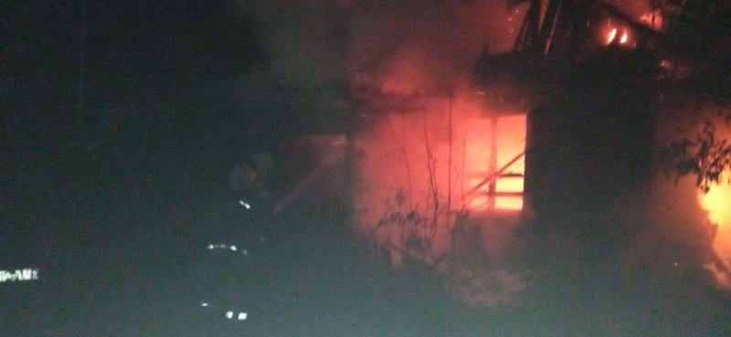 В Вязниковском районе на пожаре погиб человек