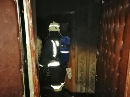 Во Владимирской области пожар закончился гибелью двоих человек