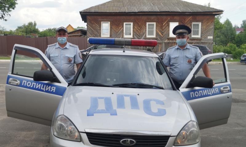 Во Владимирской области задержана машина с похищенными с железной дороги деталями