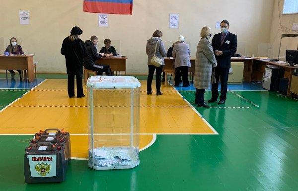 Во второй день голосования явка избирателей из Владимирской области составила 20,42%