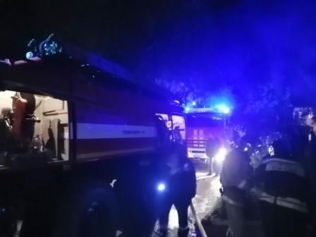 В Муроме ночью загорелся электрощиток в жилом доме