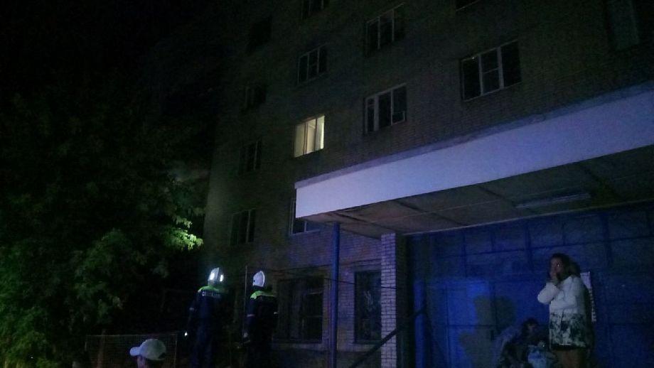 Из-за пожара во Владимире ночью эвакуировали 150 человек