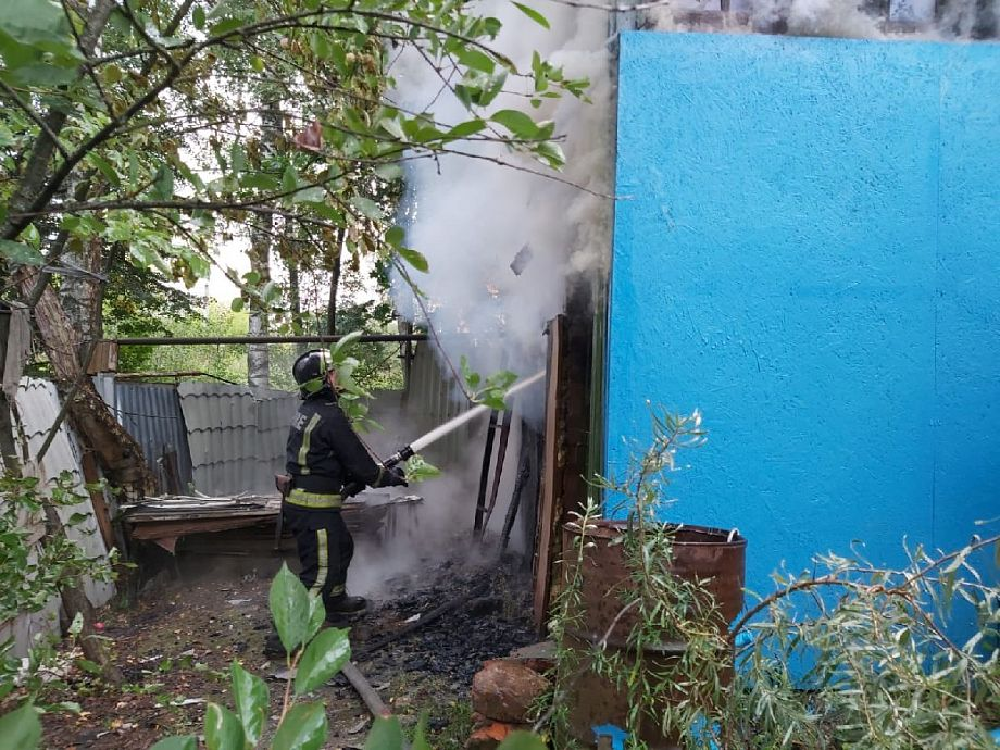 В Александрове из-за неисправной проводки в дачном доме сгорел мужчина