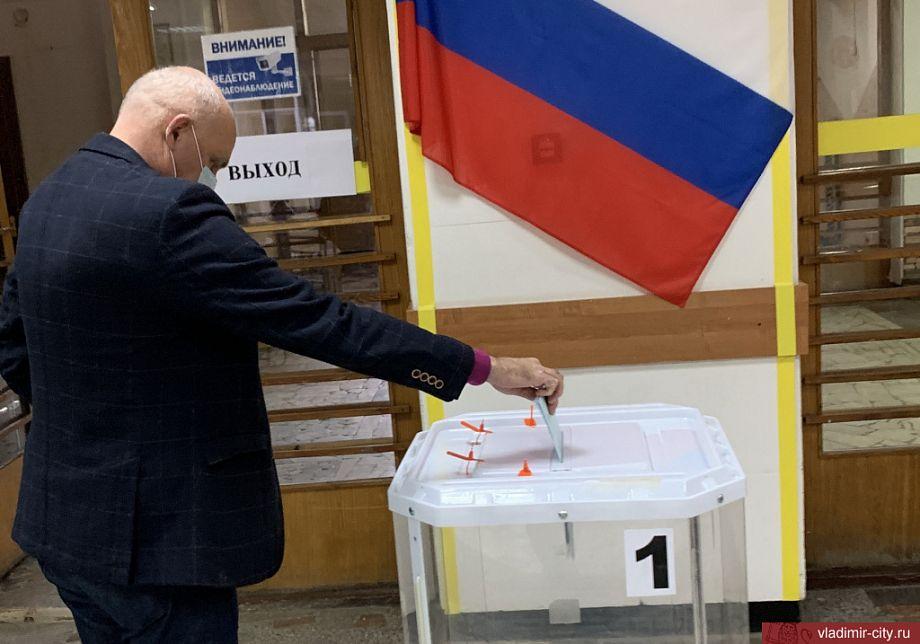 Глава города Андрей Шохин принял участие в голосовании