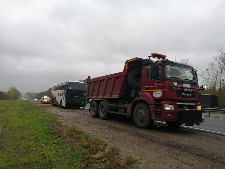 Дорожники помогли пассажирам сломавшегося во Владимирской области автобуса