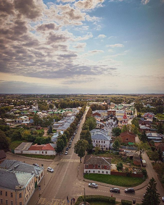 Более 100 млн рублей выделено на благоустройство Суздаля в рамках подготовки к 1000-летию города