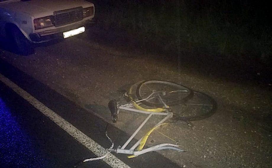Во Владимирской области водитель наехал на пешехода, лежащего на дороге