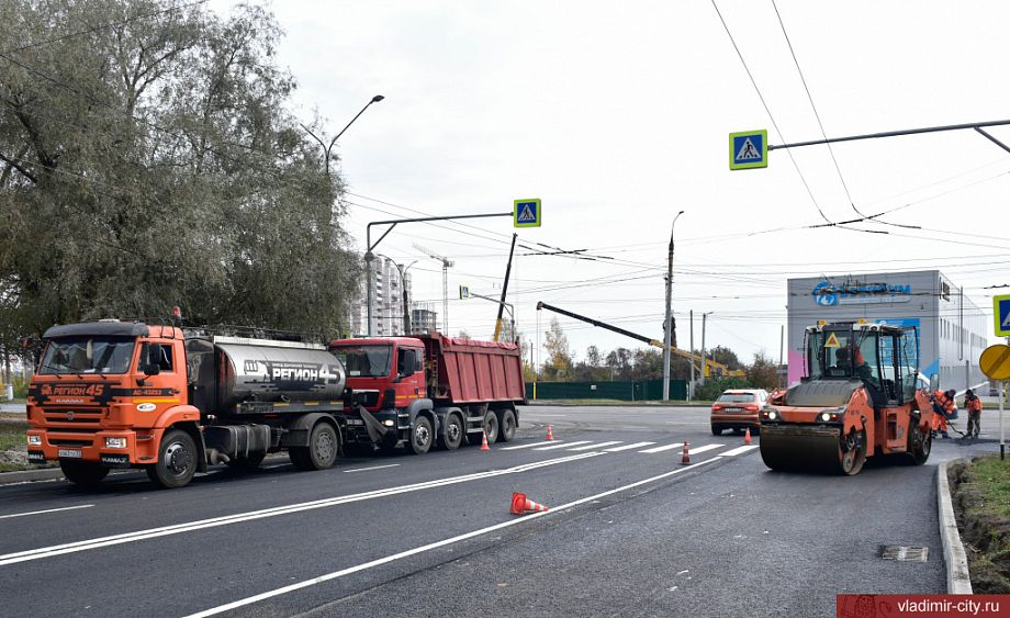 Ремонт дорог на улицах Красноармейской и Егорова должен быть завершен к концу октября